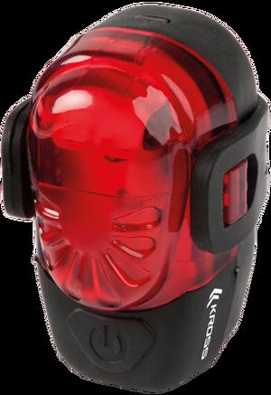 Lampa tył Red Silk 1 Super LED czarny