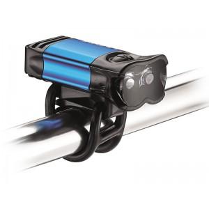 Lampka przednia LEZYNE LED KTV DRIVE PRO 80 lumenów, usb niebieska